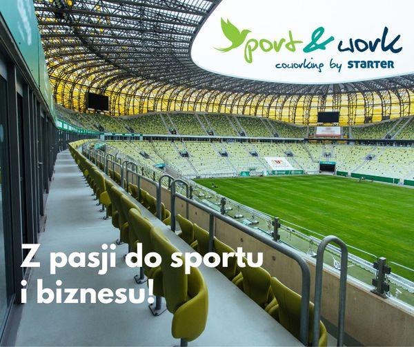 Coworking na stadionie w Gdańsku